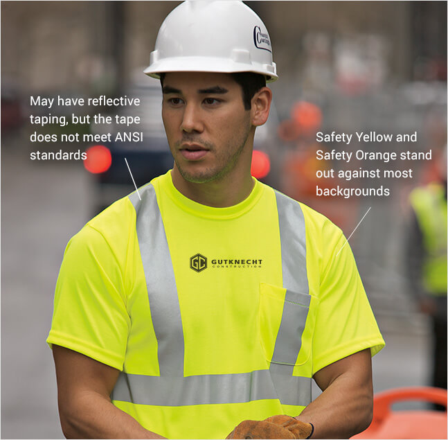 reflective safety apparel