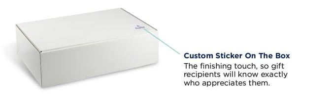 standard box with custom label
