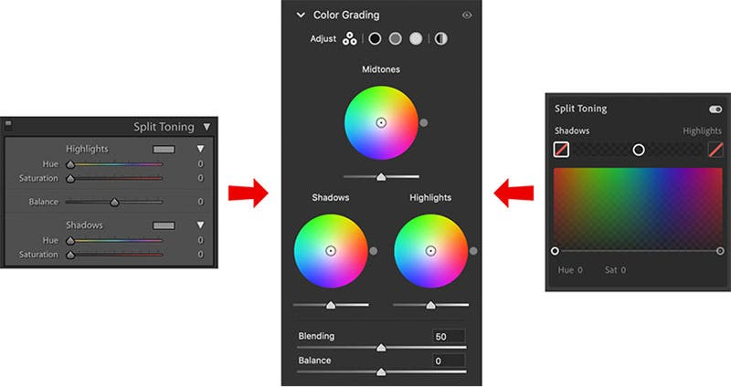 how to use Lightroom update color grading