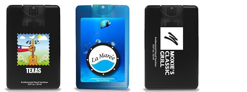 Credit Card Style Hand Sanitizer