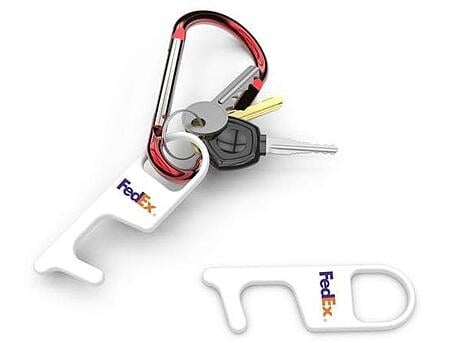 Plastic and Metal TouchTool with fedex logo