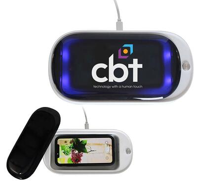 UV sanitizer wireless charger