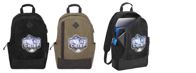 Branded Computer Backpack for Employees