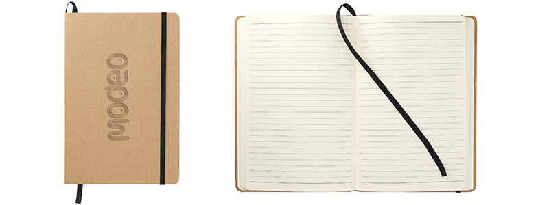 recyled paper notebook