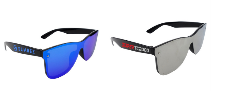 logoed sunglasses for golf events