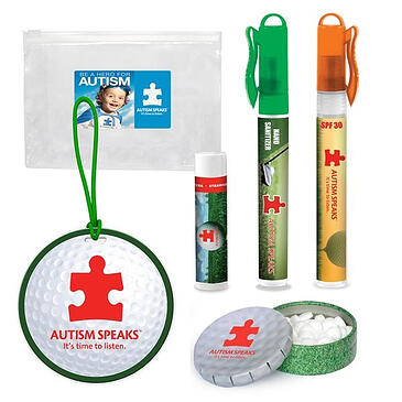 promotional golf event giveaway kit