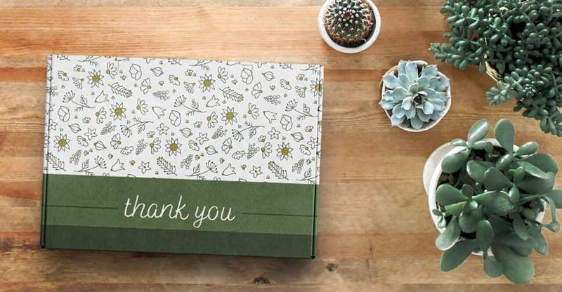 Client appreciation swag boxes