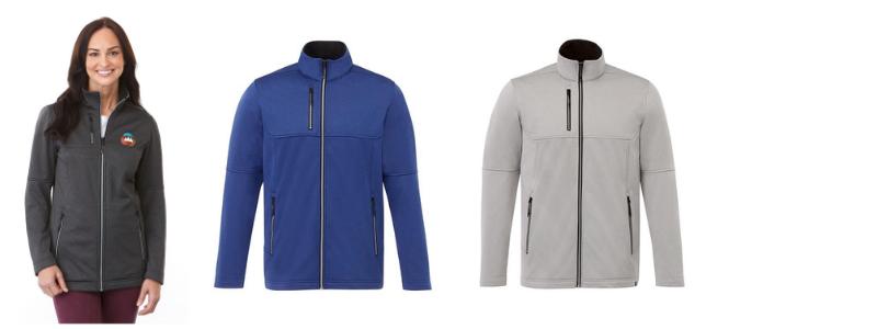 branded custom jacket for employees