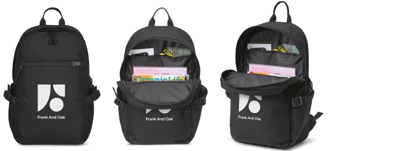 Branded computer backpack holiday gift