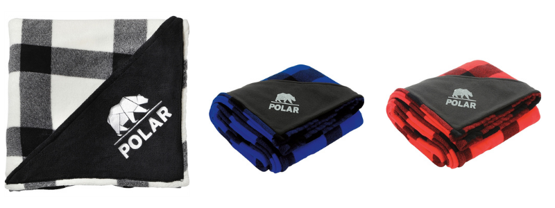 promotional blankets for holiday gifts
