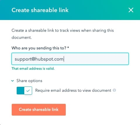 Create Sharable Links in HubSpot