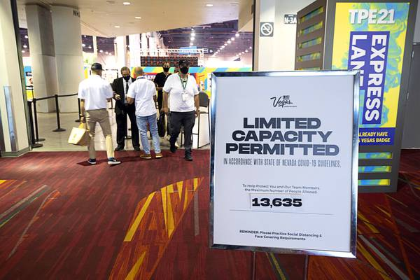 trade shows are back with limited capacity