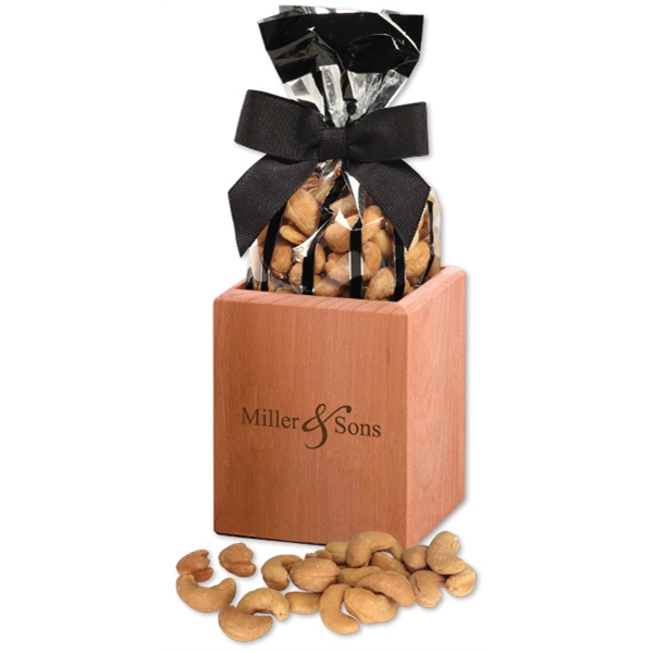 branded pen holder with nuts