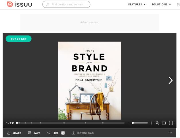 sharing presentations on isssuu