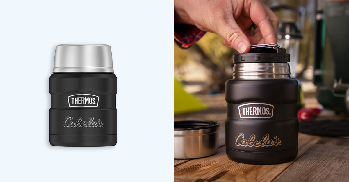 Thermos Stainless King Steel Food Jar