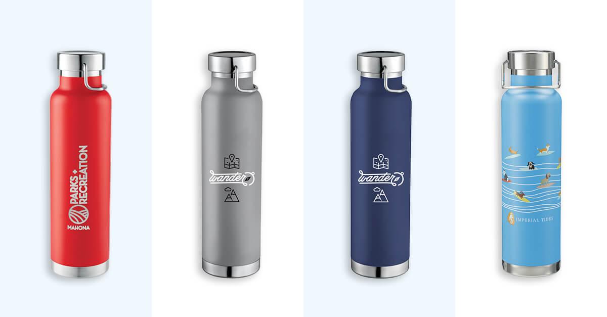 Thor Copper Vacuum Insulated Bottle