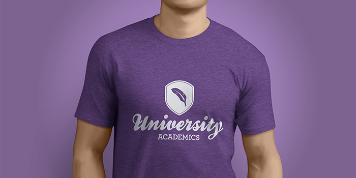 School apparel giveaway idea: branded t-shirt