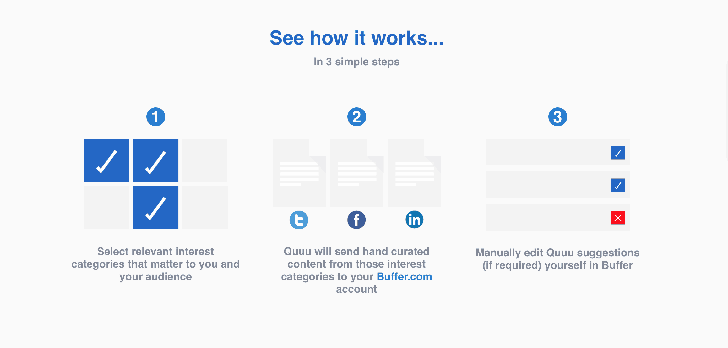 Keep your social content engaging with Quuu