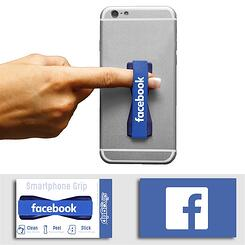 SlingGrip Cell Phone Strap with Facebook logo