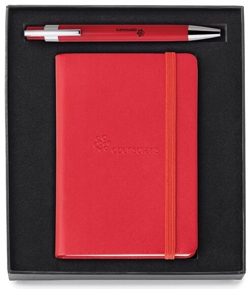 Promotional Pen and Journal Gift Set