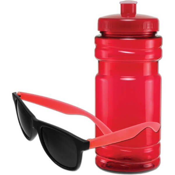 Promotional Sunglasses Promotional Water Bottle