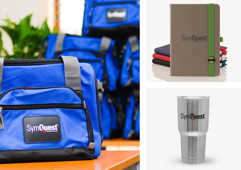 Promotional Cooler with Tumbler and Journal