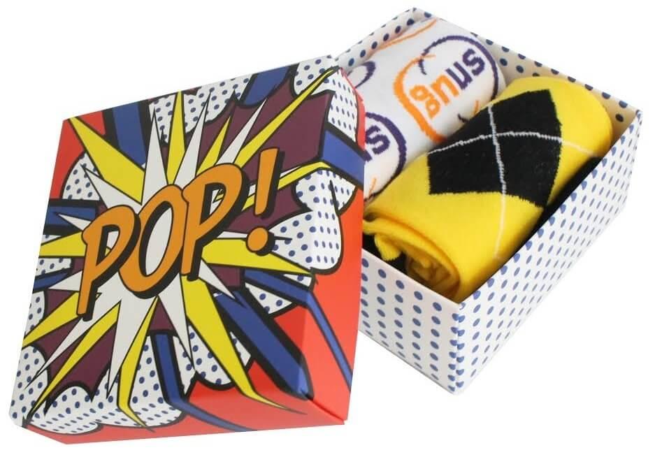Custom Branded Company Socks in Gift Box