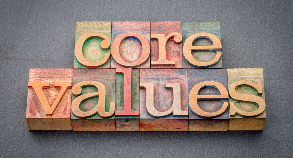 Company Core Values Promotional Products