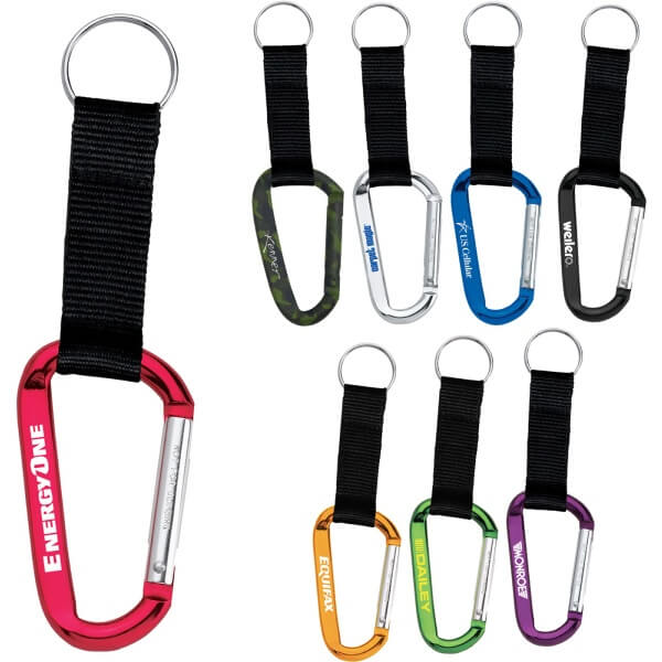 Promotional Carabiner Keychain