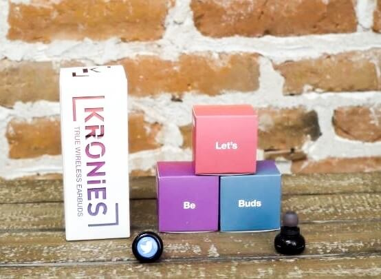 Promotional Product Packaging Kronies Wireless Earbuds