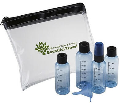 Liquid Aero-Safe Travel Kit