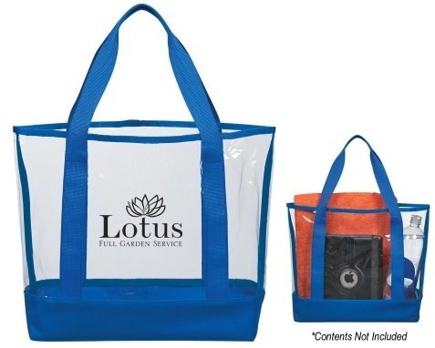 Branded Clear Casual Tote Bag