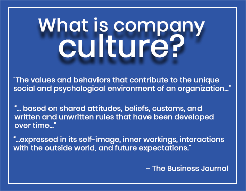 What is company culture? definition