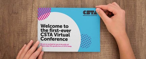 Virtual Event Swag Box Postcard