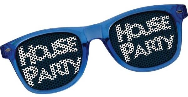 Custom Printed Lens Sunglasses