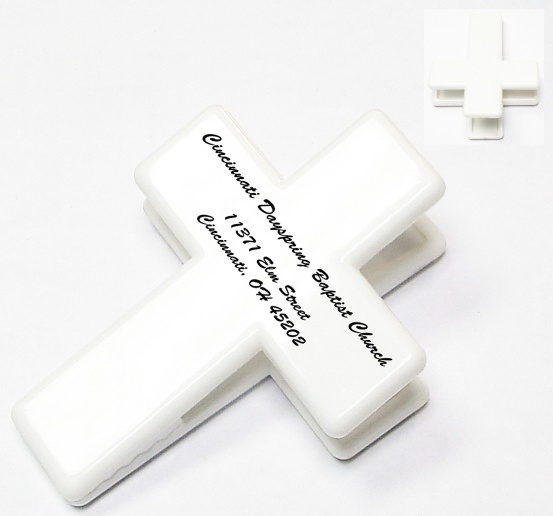 Custom Cross Clip