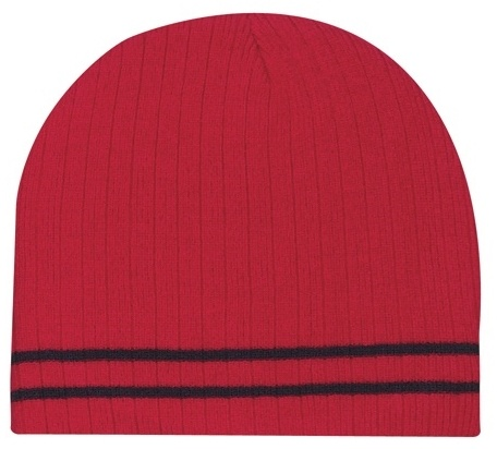 Promotional Ribbed Knit Beanie
