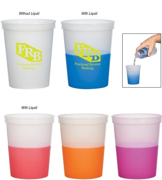 Logo Color Changing Cups