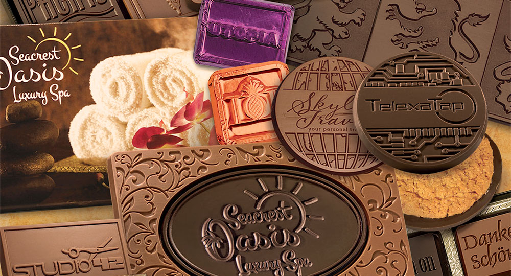 Corporate Logo Chocolates
