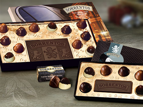 Corporate Logo Chocolates Truffles