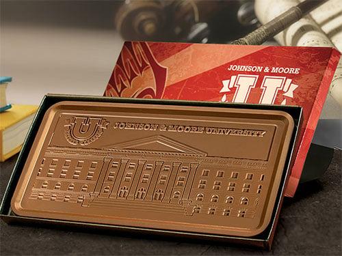 Logo Chocolates Gift Bars