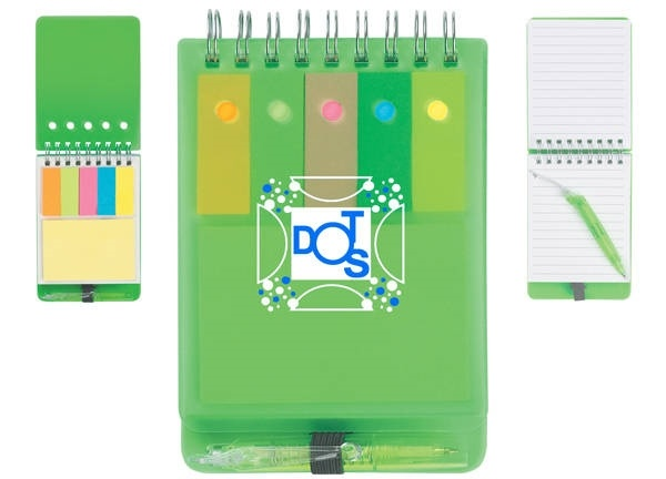 Personalized Notepad with Sticky Notes