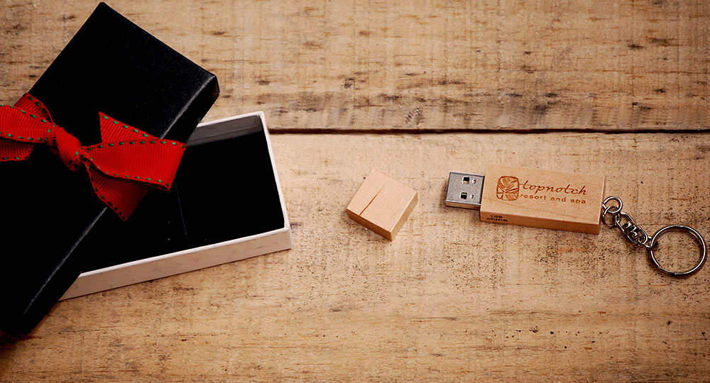 Branded USB Drives Holiday Gifts