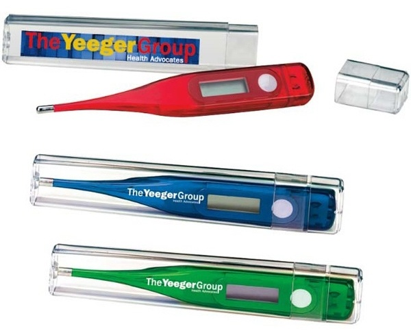 Printed Thermometers
