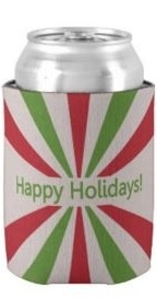 Custom Holiday Koozies