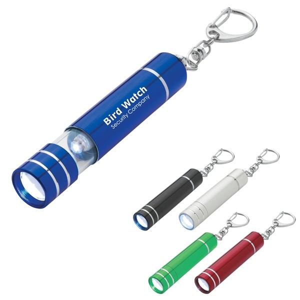 Aluminum Flashlight Keychain