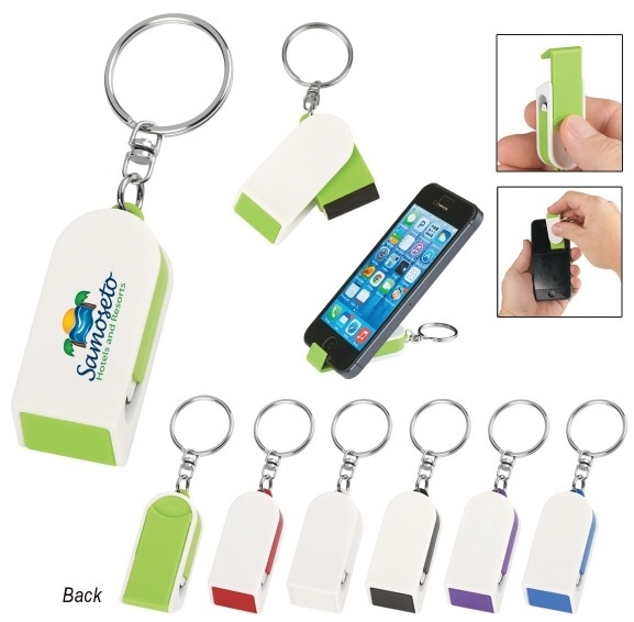 Custom Keychain Screen Cleaner