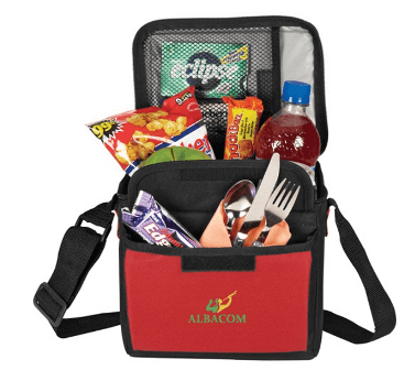 Showing Your Brand Personality - red cooler