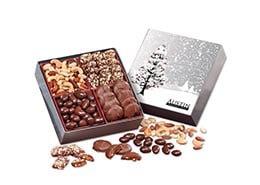 Gourmet Holiday Gift Box with Cardinals Sleeve