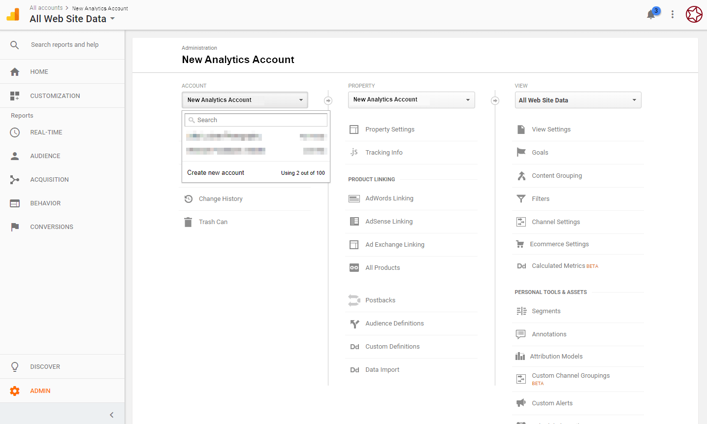 Install Google Analytics - Sample Analytics Setup